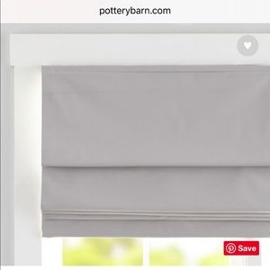 Pottery Barn Cameron Cotton Cordless Roman Shade